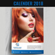 Wall Calendar 2018 - Simple and Clean - GraphicRiver Item for Sale