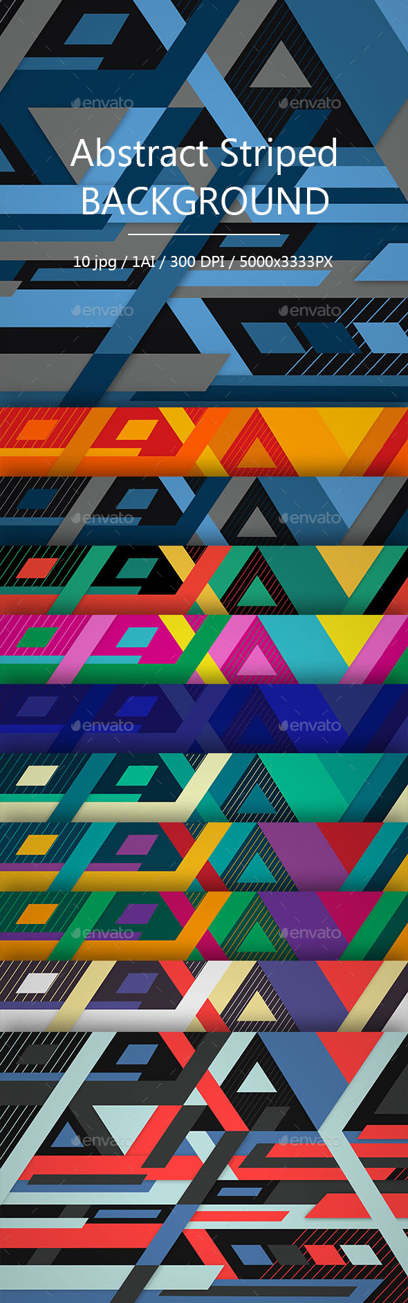 Abstract Striped Background - Backgrounds Graphics
