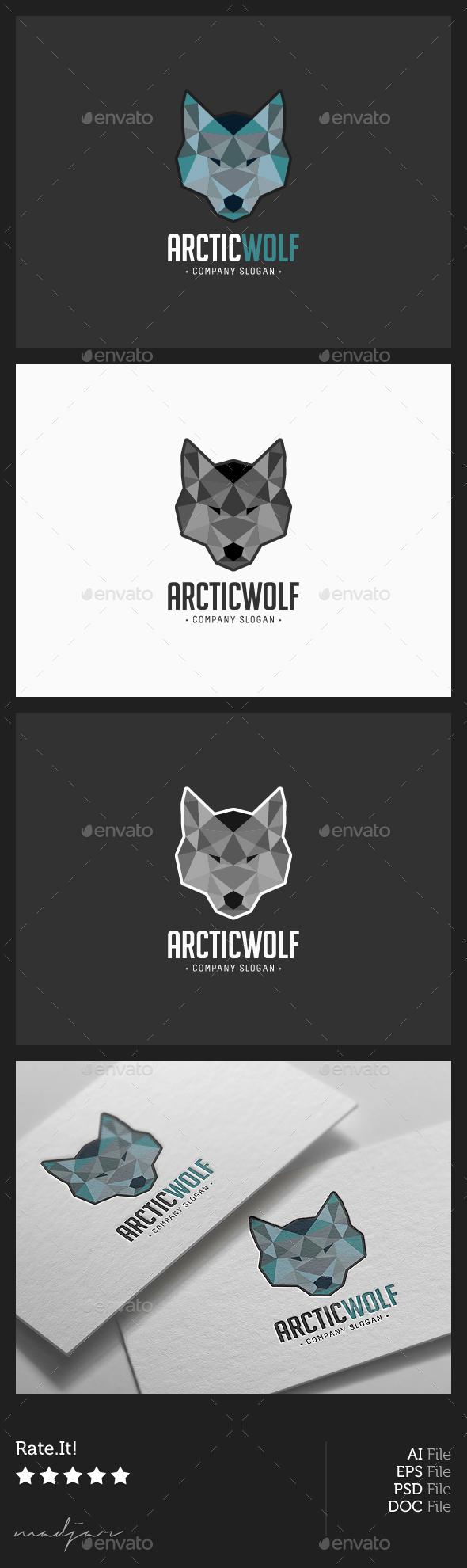 Wolf Head Logo - Animals Logo Templates
