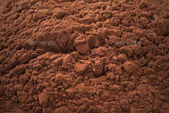Cocoa Powder - Stock Photo - Images