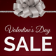 Valentine's Day Sale Flyer - GraphicRiver Item for Sale