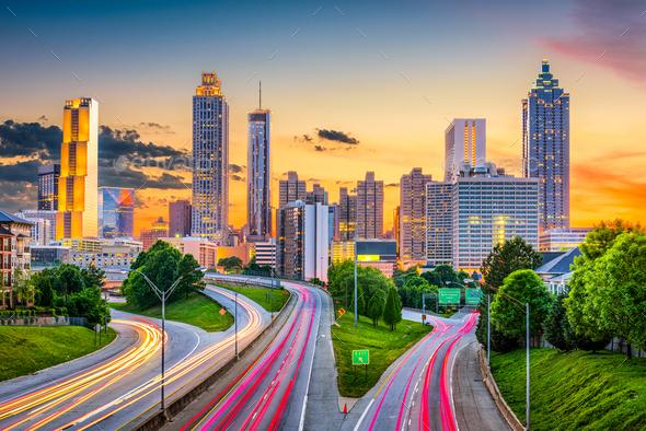 Atlanta, Georgia, USA - Stock Photo - Images