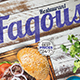 Fakous Restaurant Menu Flyer - GraphicRiver Item for Sale