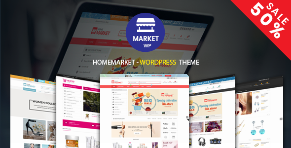 HomeMarket - eCommerce WP Theme for WooCommerce