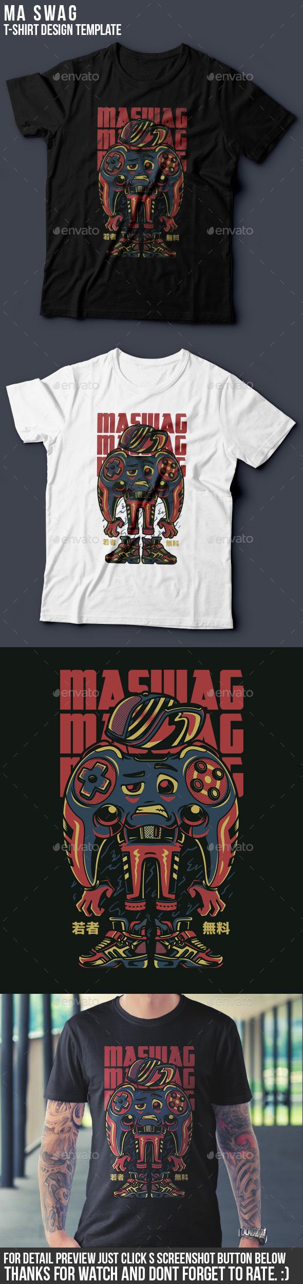 Maswag T-Shirt Design