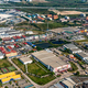 Industrial estate and residential area aerial view - PhotoDune Item for Sale