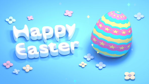 Happy easter greetings by tykcartoon videohive play preview video m4hsunfo