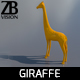 Lowpoly Giraffe 001 - 3DOcean Item for Sale