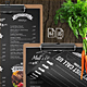 Matt's Diner Single Page A4 and US Letter Menu - GraphicRiver Item for Sale