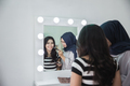 make up artist applying makeup - PhotoDune Item for Sale
