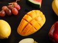 healthy sliced yellow mango - PhotoDune Item for Sale