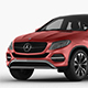 Mercedes-Benz GLE-class coupe 2014 - 3DOcean Item for Sale