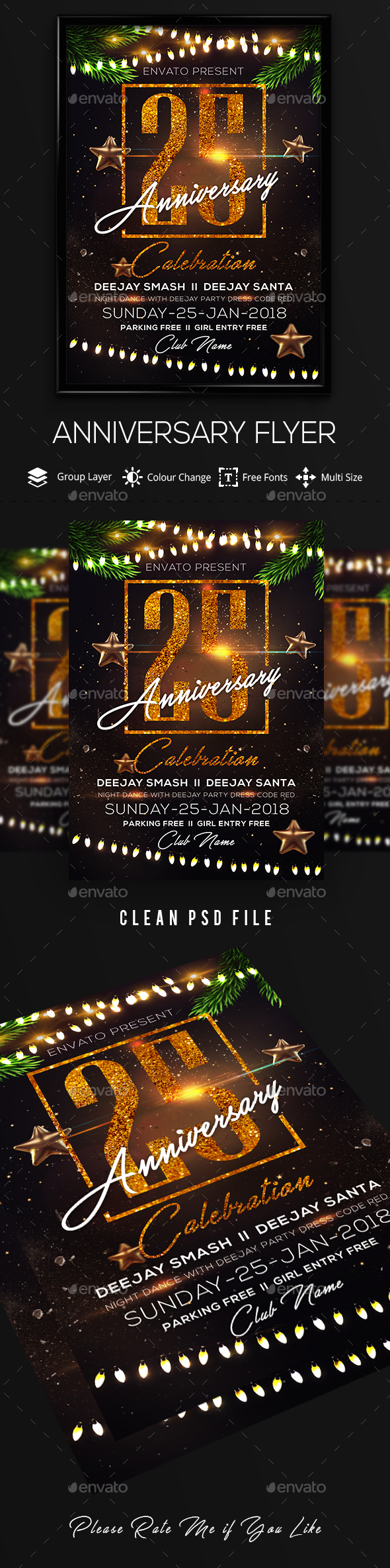 Anniversary Celebration - Clubs & Parties Events