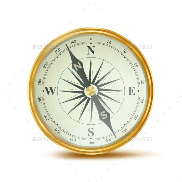 Compass Vector - Objects Vectors