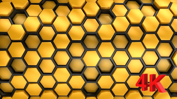 VideoHive Background From Hexagons 21245725