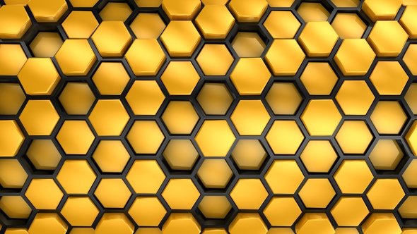 VideoHive Background From Hexagons 21245729
