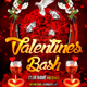 Valentines Bash Flyer Template - GraphicRiver Item for Sale