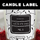 Candle Label and Box Template 2 - GraphicRiver Item for Sale