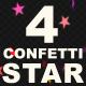 Confetti Star - VideoHive Item for Sale