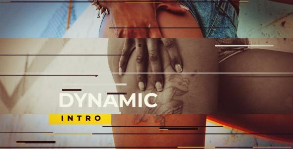 VideoHive Dynamic Glitch Opener 21245903