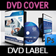 Company Profile DVD Cover and Label Template