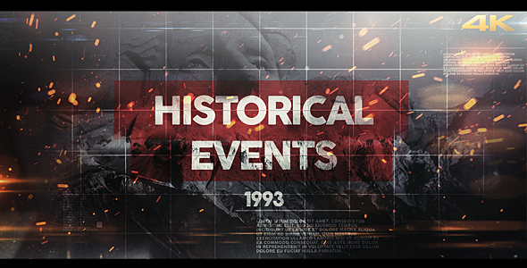 VideoHive Historical Events II 21246062