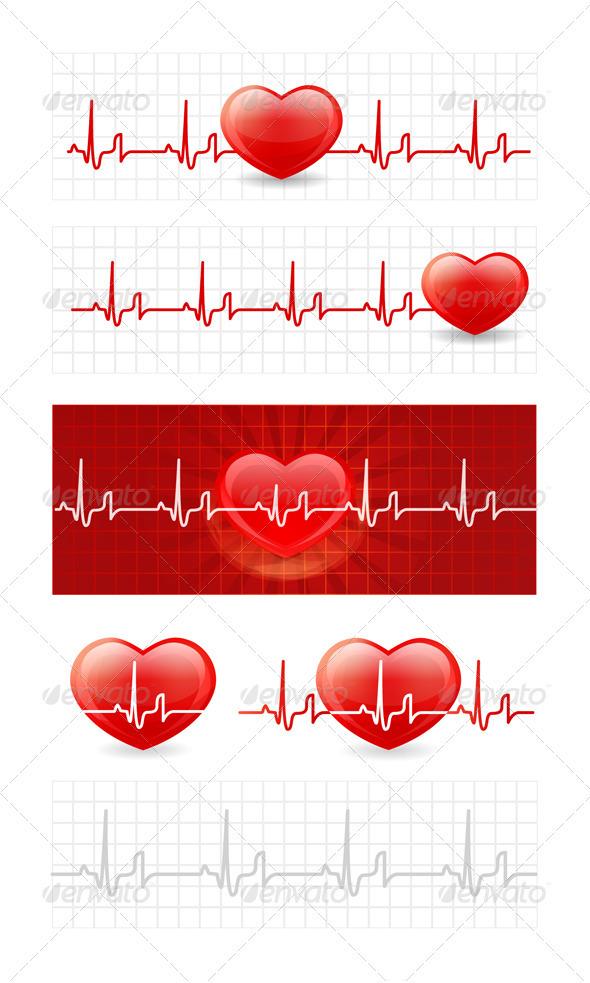 Heart Cardiogram - Health/Medicine Conceptual
