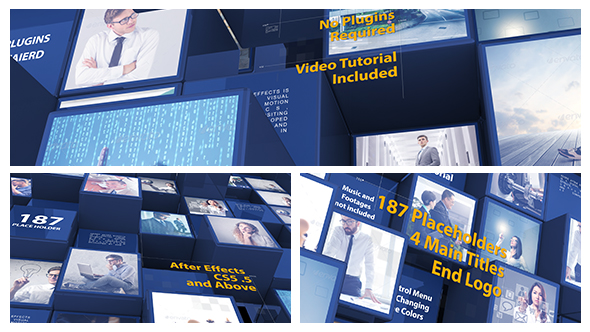 3d Mosaic Corporate Intro 21246249