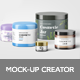 Cosmetic Jars Mockup - GraphicRiver Item for Sale