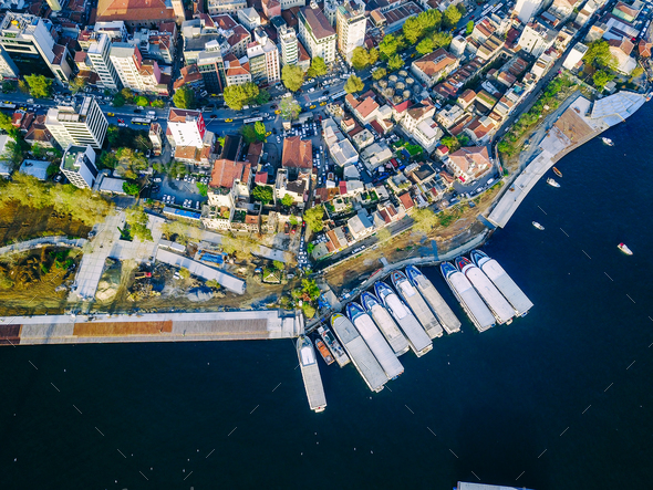 Istanbul aerial survey - Stock Photo - Images