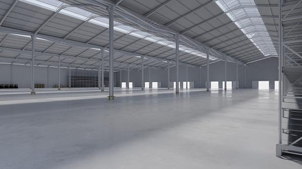 Warehouse Interior 11 - 3DOcean Item for Sale