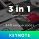 3 in 1 Multipurpose Keynote Template Bundle (Vol.03) - GraphicRiver Item for Sale