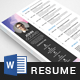 Professional Resume Template - GraphicRiver Item for Sale
