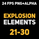 Liquid Elements Explosions 21-30 - VideoHive Item for Sale