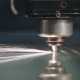 Industrial Laser Cutter with Sparks - VideoHive Item for Sale