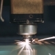 CNC Laser Cutting Metal Steel with the Program Industrial Technology - VideoHive Item for Sale