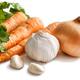 fresh raw garlic, onion, and carrot - PhotoDune Item for Sale