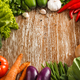 Composition with fresh raw vegetables - PhotoDune Item for Sale