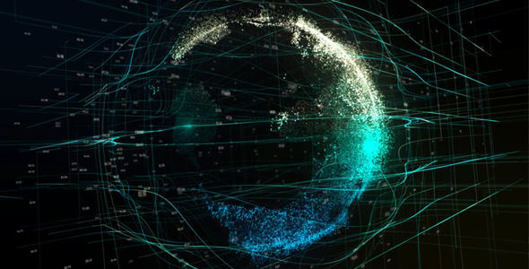 VideoHive Particle Earth 20982801