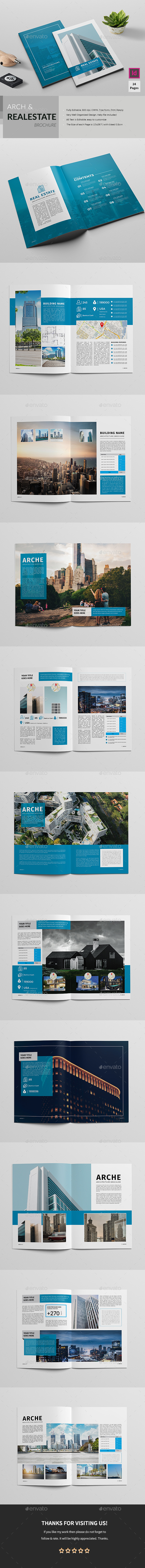 Real Estate/Architecture Brochure - Corporate Brochures