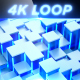 4K Glacier Cubes V2 - Professional VJ Background Loop - VideoHive Item for Sale