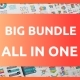 Big Bundle All in One Infographic Elements