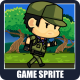 The Rash Explorer 2D Game Character Sprite - GraphicRiver Item for Sale