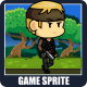 The Rogue Soldier 2D Game Character Sprite