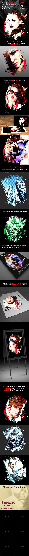INKPOPframe Photo Template - Photo Templates Graphics
