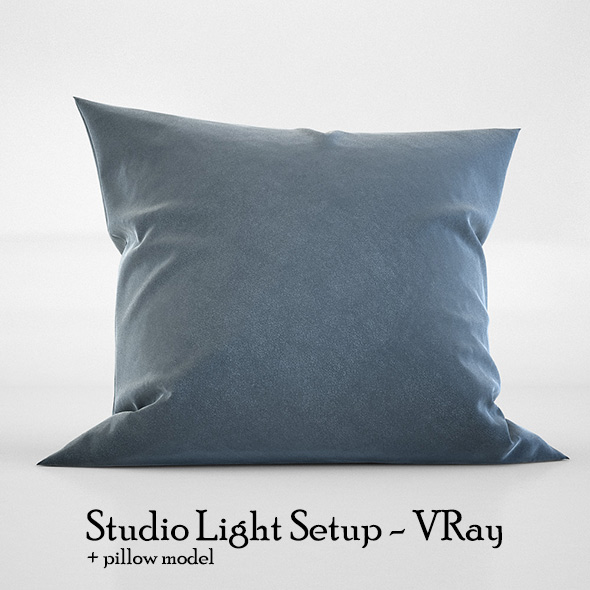 Studio Light Setup Scene - VRay - 3DOcean Item for Sale