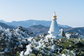 white pagoda in mount lushan - PhotoDune Item for Sale