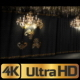 Black Concert Stage And Chandeliers - VideoHive Item for Sale