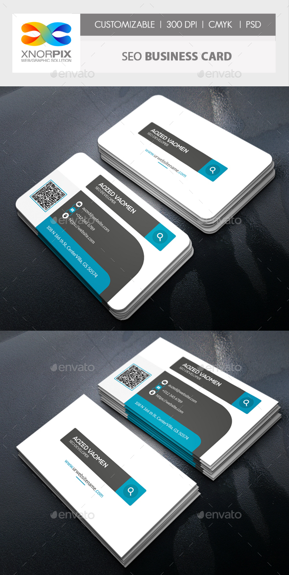 Seo Business Card - Corporate Business Cards