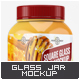 Square Glass Jar Mock-Up - GraphicRiver Item for Sale